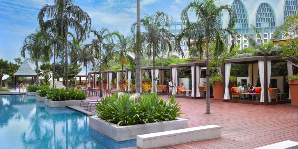 Singapore - Sentosa Island - 18265 - Festive Pool Side