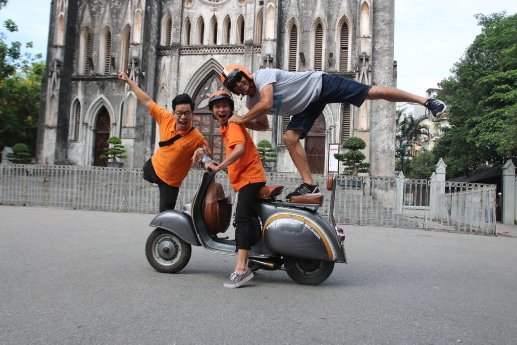 Hanoi - Vietnam - 16103 - Hanoi Vespa Trip