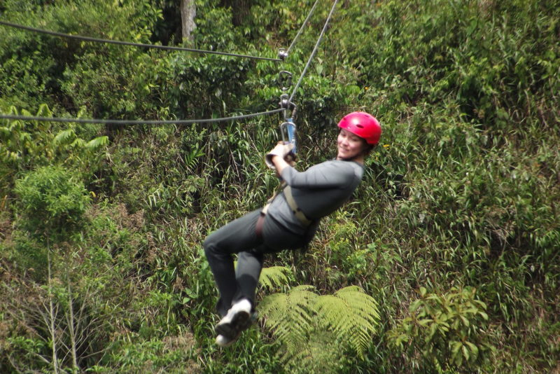 Ecuador - 1557 - Adventure Experience - Mindo Cloud Forest Zipline