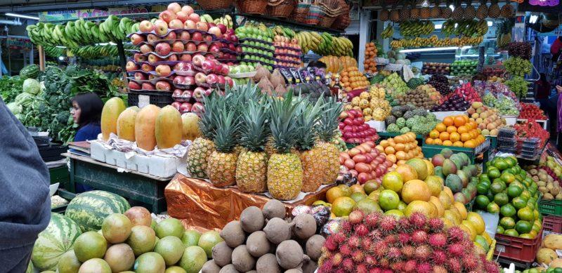 Colombia - 1558 - Quindio Paloquemao Fruit Market Food Cuisine