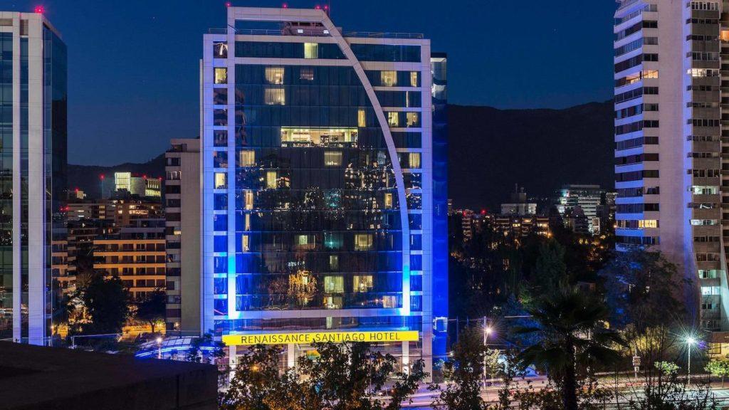 Chile - 1560 - Santiago - Renaissance Hotel City Centre Exterior