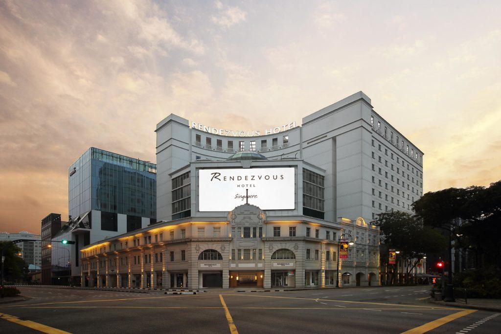 Singapore - 18265 - Rendezvous Hotel Singapore main entrance