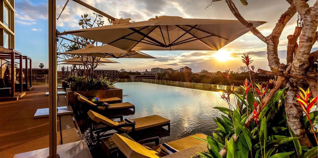 Laos - Vientiane - 17089 - Crowne Plaza Vientiane Pool