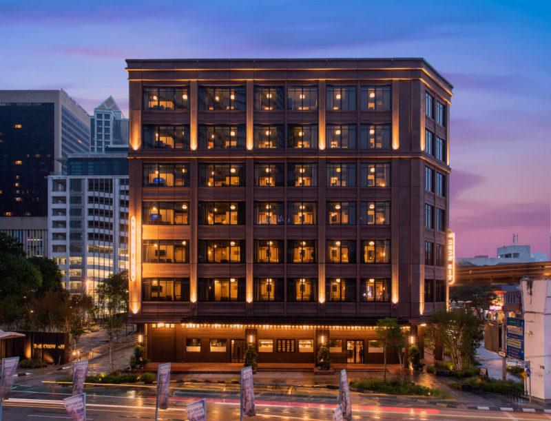Malaysia - Kuala Lumpur - 18266 - Night Shot of Hotel