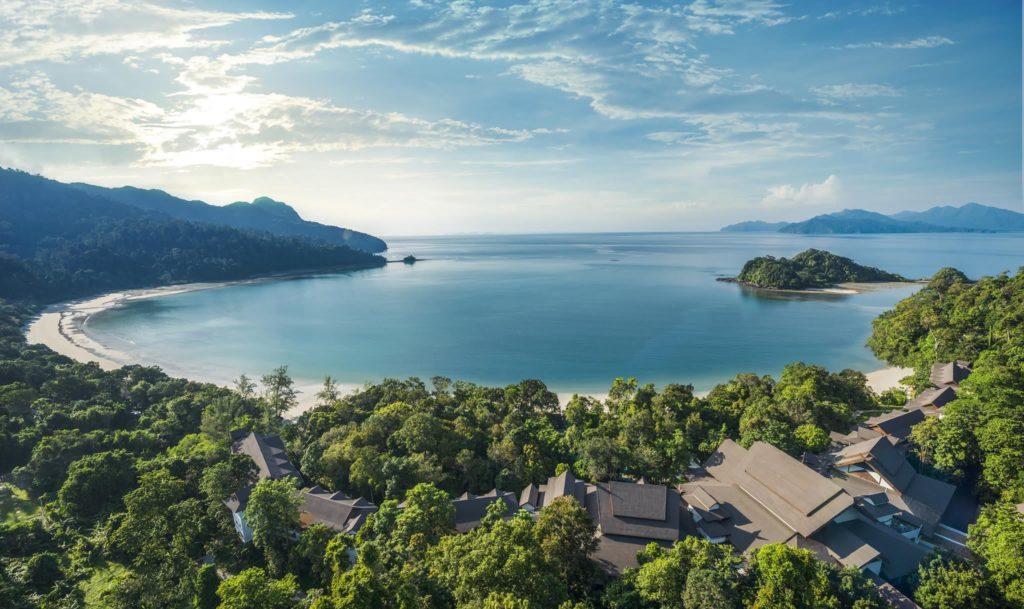 Malaysia - Langkawi - 18266 - Drone shot of Resort