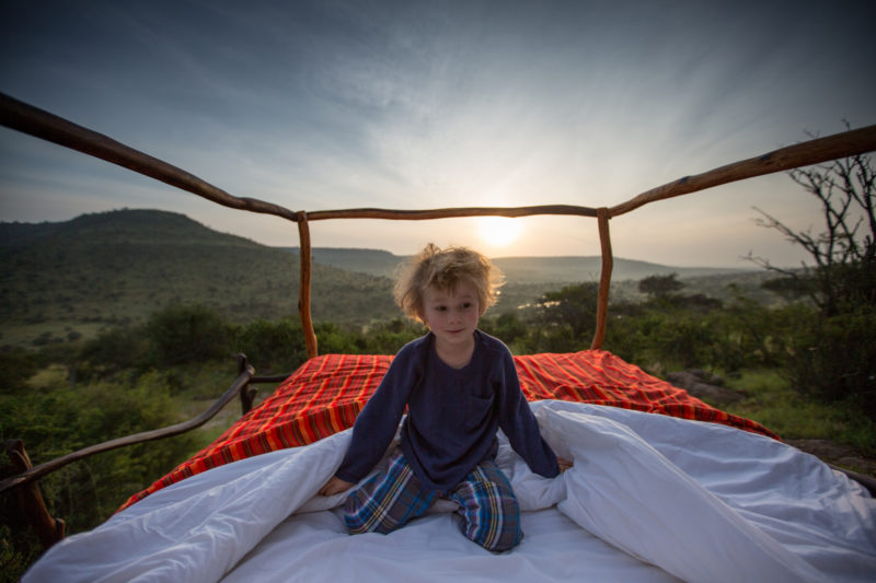 Kenya - 12890 - Star beds - Family Experience - Sleeping Out Under the Stars