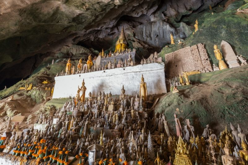 Luang Prabang - Laos - 17089 - Pak Ou Buddhist Cave