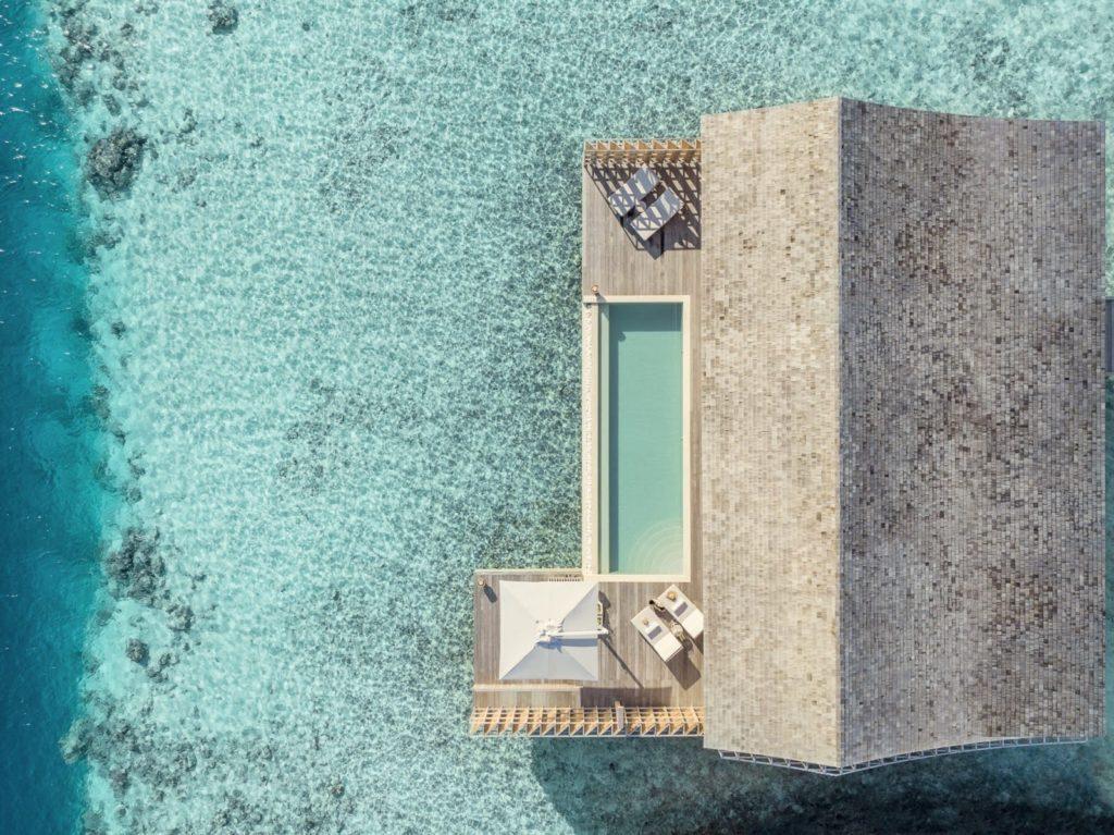 Maldives - Lhaviyani Atoll - 1567 - Kudadoo Private Island - 2-bedroom-villa from above