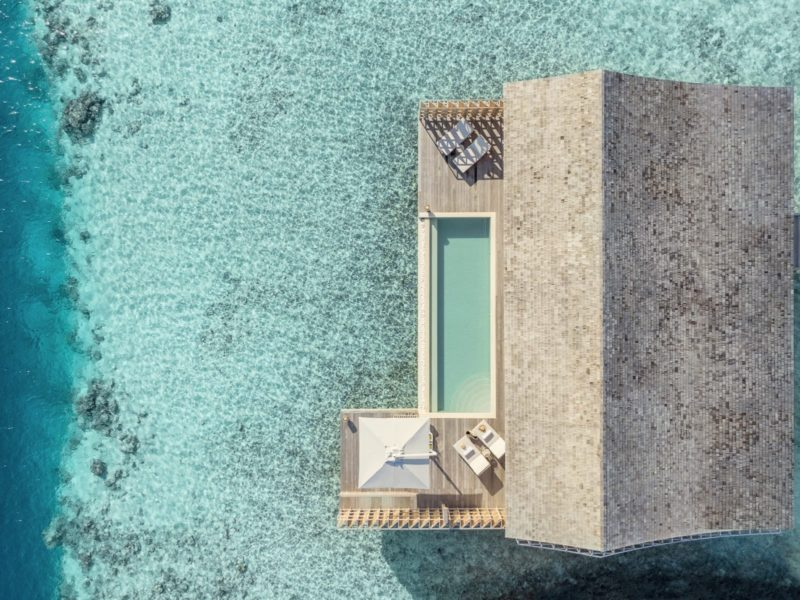 Maldives - Lhaviyani Atoll - 1567 - Kudadoo Private Island - 2-bedroom-villa from above