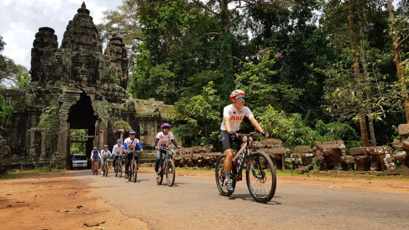 Cambodia - 18260 - Temple Cycle Route