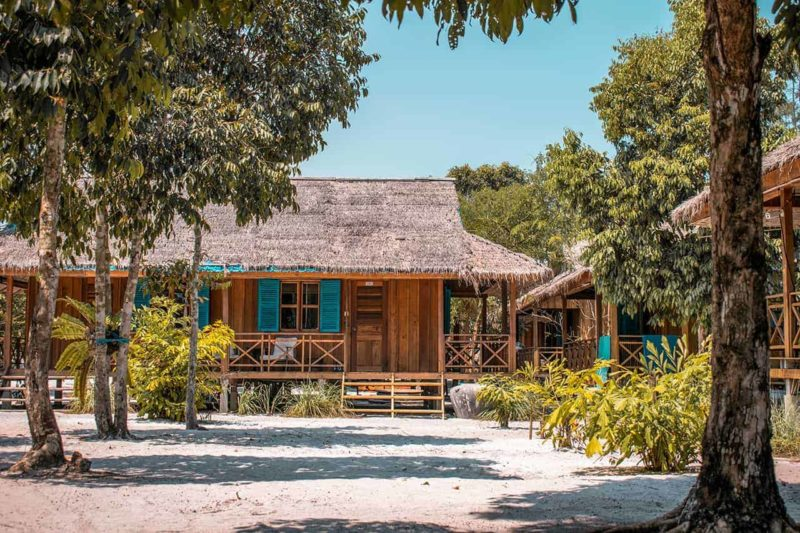 Cambodia - Koh Rong - 18260 - beach lodge