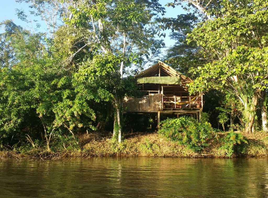 Nicaragua - 10024 - Hotel Sabalos Lodge River Exterior
