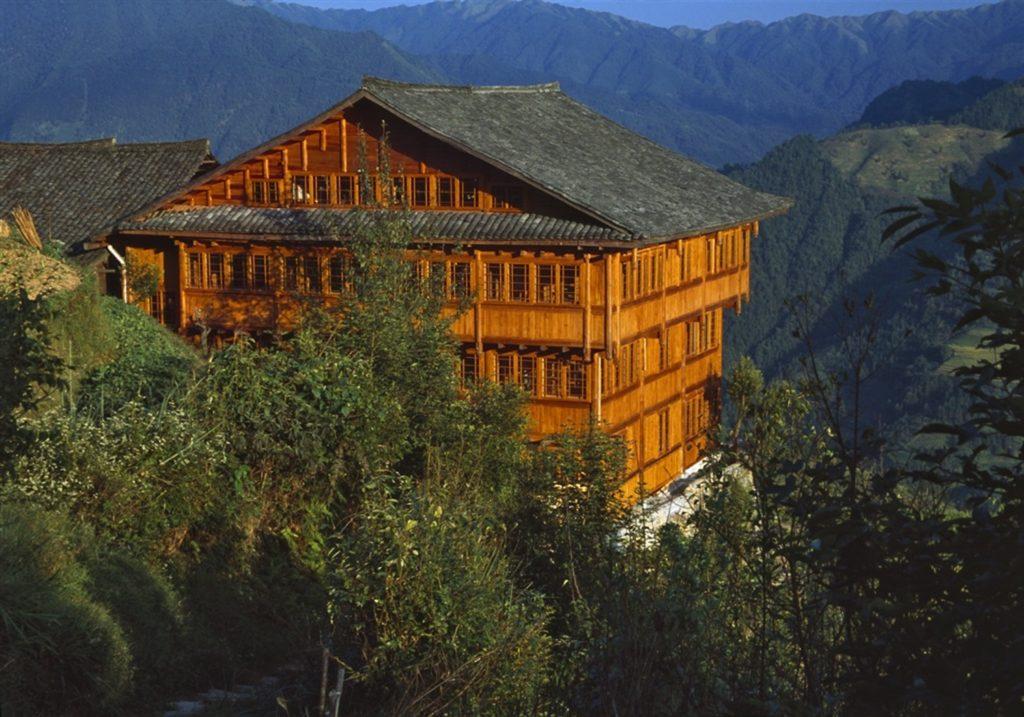 China - Guilin - 18262 - Main Lodge Exterior