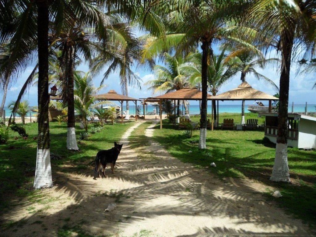 Nicaragua - 10024 - Paraiso Beach Hotel Beach View