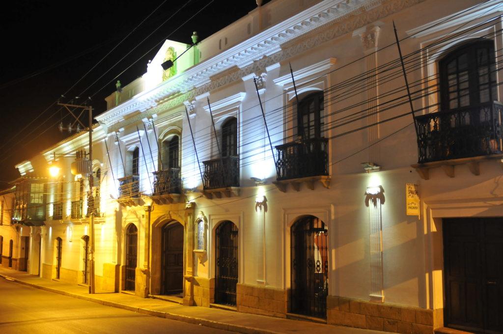 Bolivia - Sucre - 1561 - Hotel Parador Santa Maria Real front