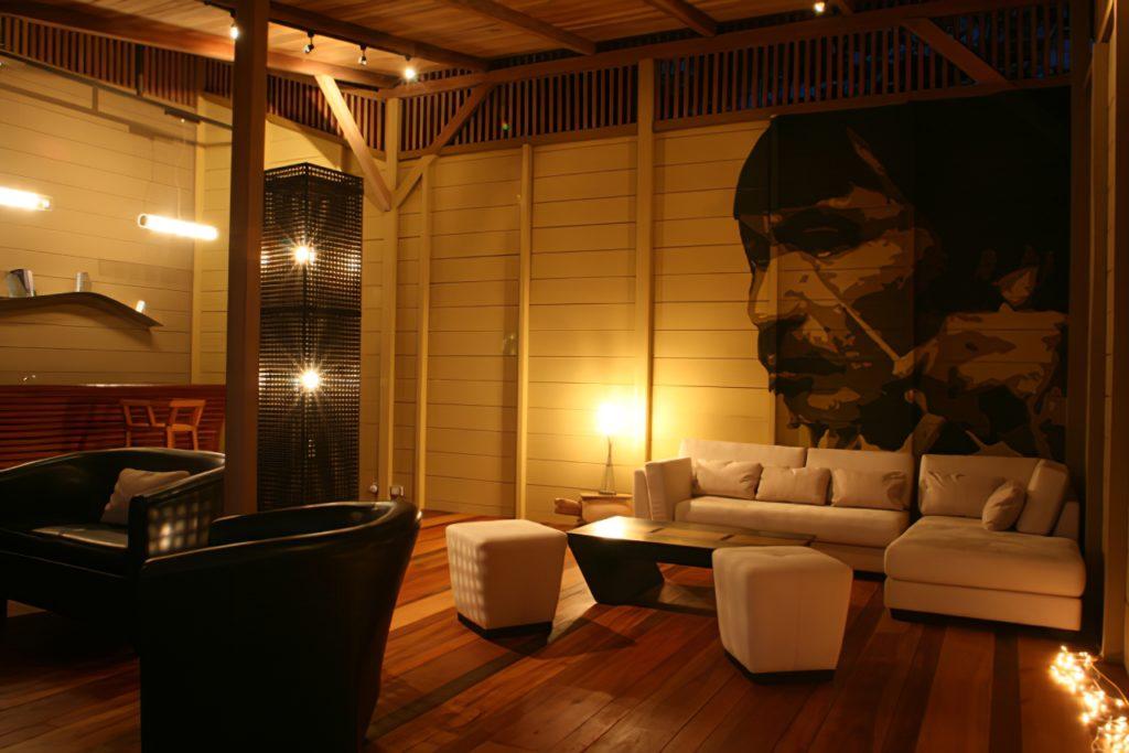 Ecuador - Tena - 1557 - Hamadryade Lodge Interior