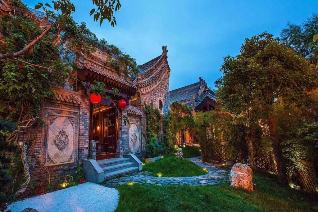 China - Xian - 18262 - Impression Nanhu Courtyard