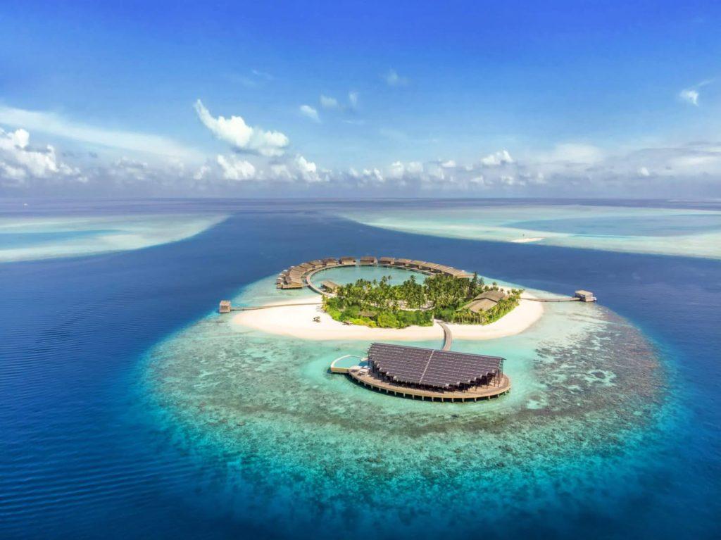 Maldives - Lhaviyani Atoll - 1567 - Kudadoo Private Island - Aerial views of the island