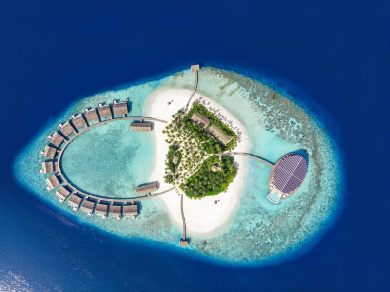 Maldives - Lhaviyani Atoll - 1567 - Kudadoo Private Island - From High Above