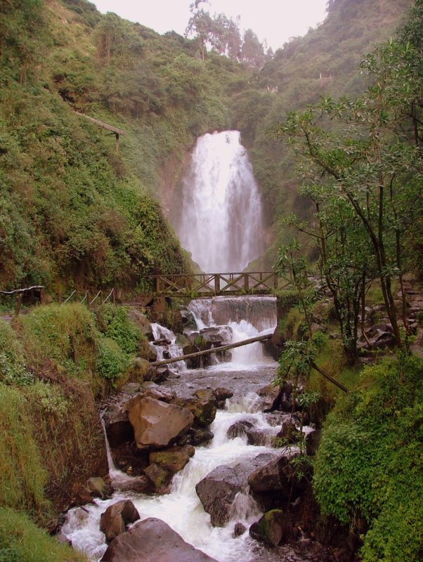 Ecuador - 1557 - Cultural Adventure - Waterfalls