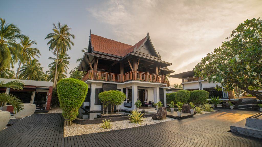 Thailand - Khanom - 18264 - Front of Hotel