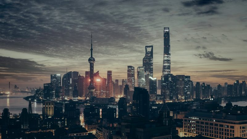 China - 1583 - Shanghai at Night
