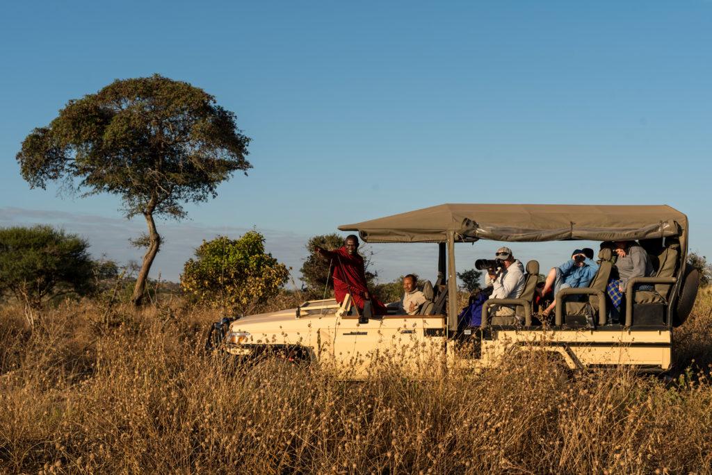 Tanzania - 17467 - Tarangire National Park - Lemala Mpingo Ridge - Safari vehicle afternoon game drive
