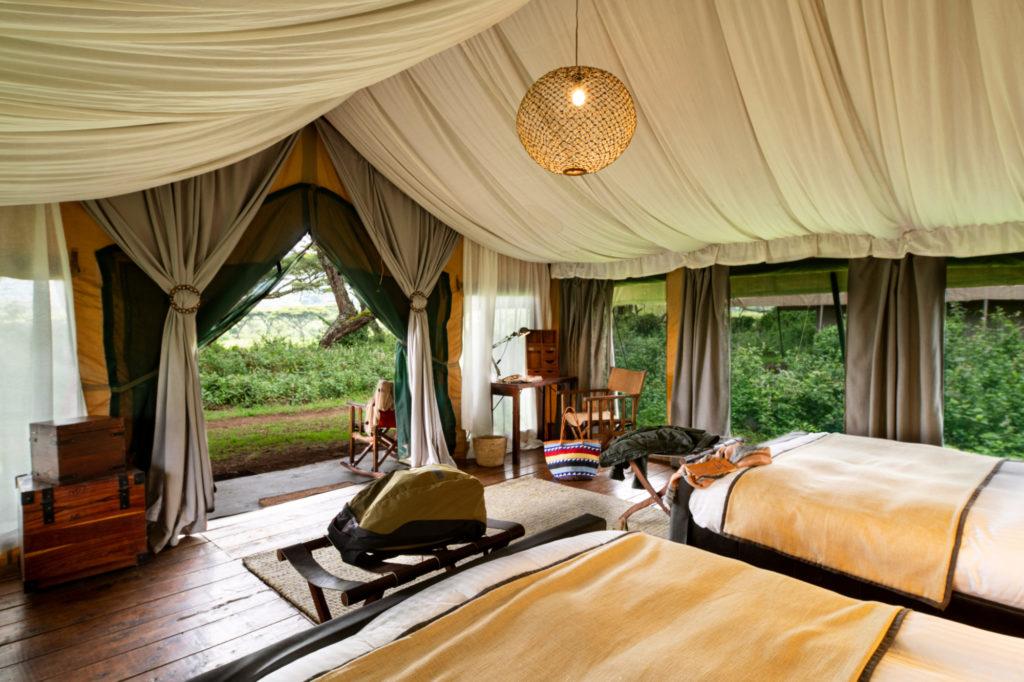 Tanzania - 17467 - Serengeti - Luxury tented room on arrival