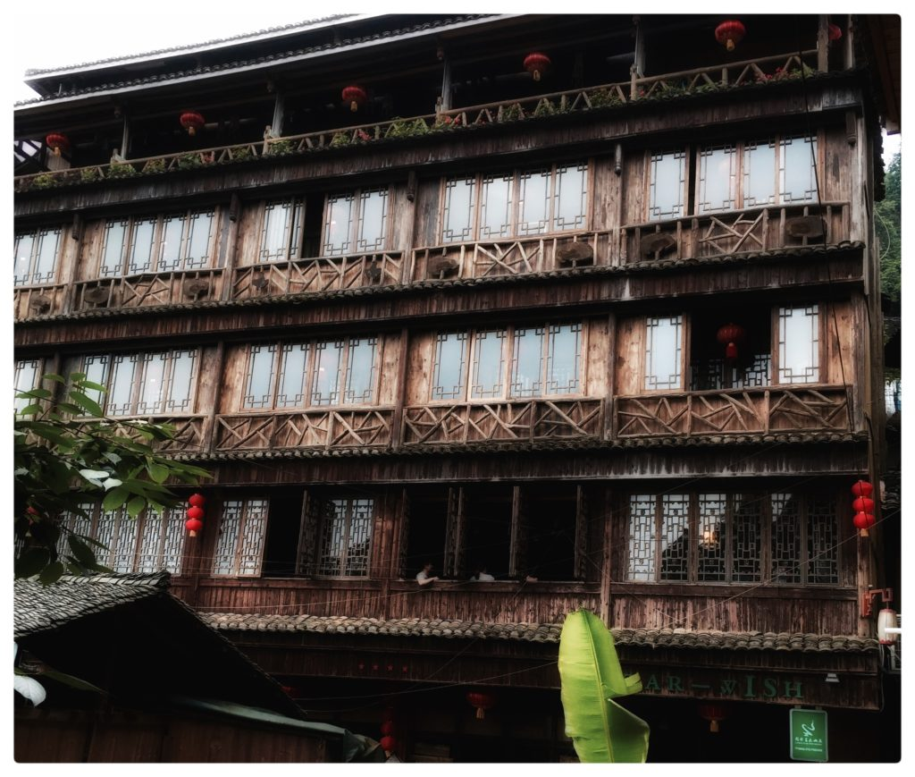 China - Guilin - 18262 - Wooden Fronted Building