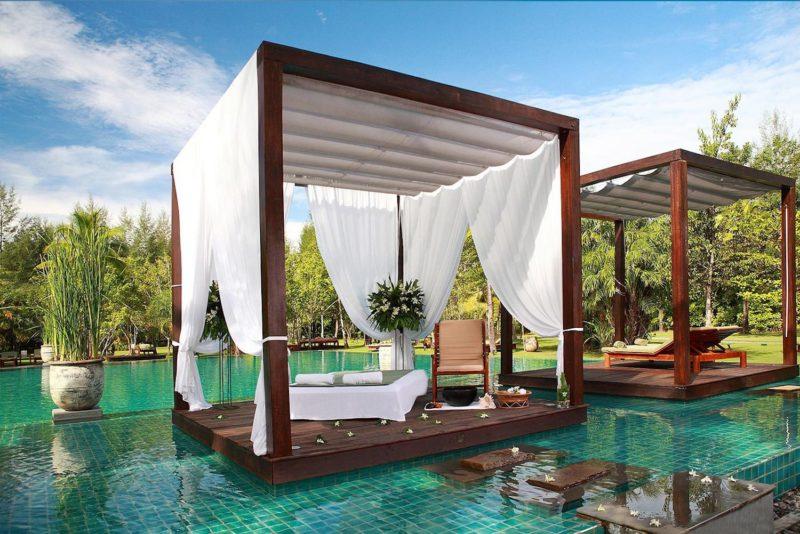 Thailand - Khao Lak - 18264 - Seating on Swimming Pool
