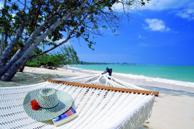 Thailand - Khao Lak - 18264 - Hat on Hammock