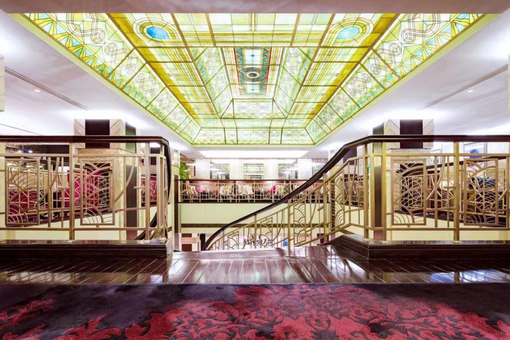 China - Shanghai - 18262 - The Yangtze Boutique Shanghai Main Lobby Staircase