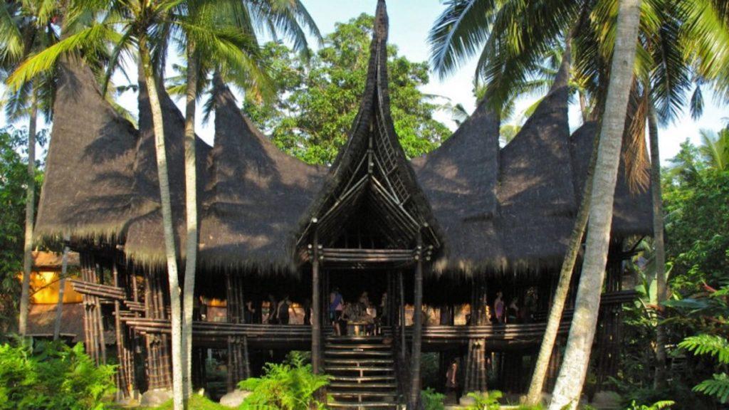 Indonesia - Ubud - 18268 - Main Entrance to Lodge