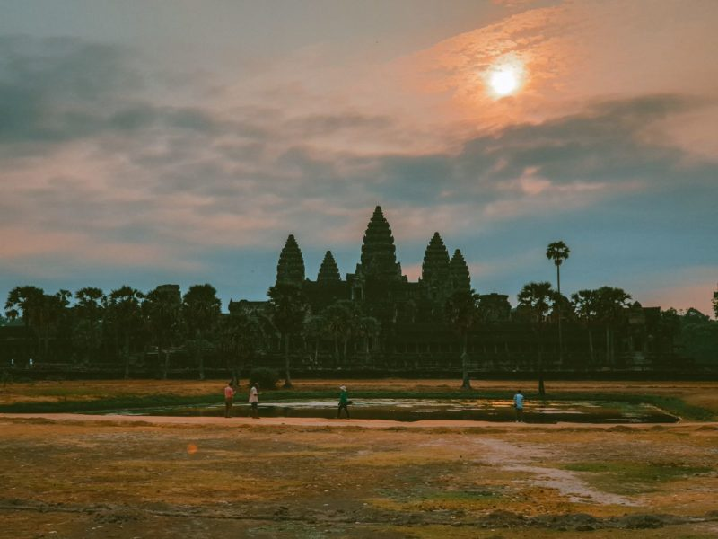 Cambodia - 18260 - Angkor Wat Temple - Sunset