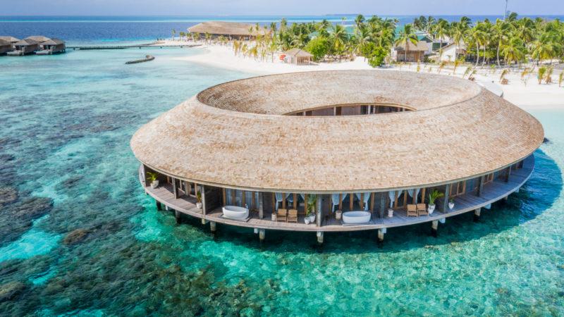 Maldives - Male Atoll - 1567- Kagi Maldives Spa Island - Baani Spa Aerial