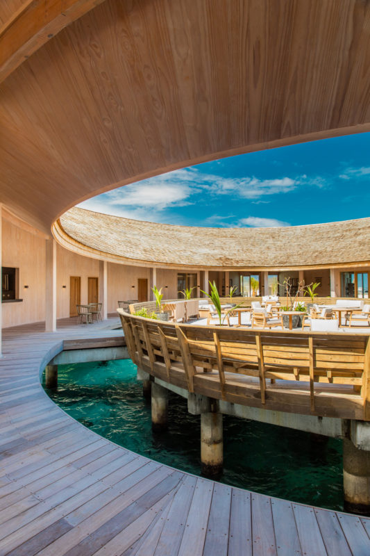 Maldives - Male Atoll - 1567- Kagi Maldives Spa Island - Baani Spa Inside terrace floating island