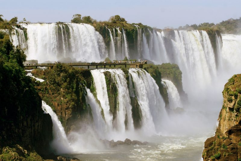 Brazil - 1584 - Exclusive Luxury - Iguacu Falls Copia Brazil Argentina Waterfall