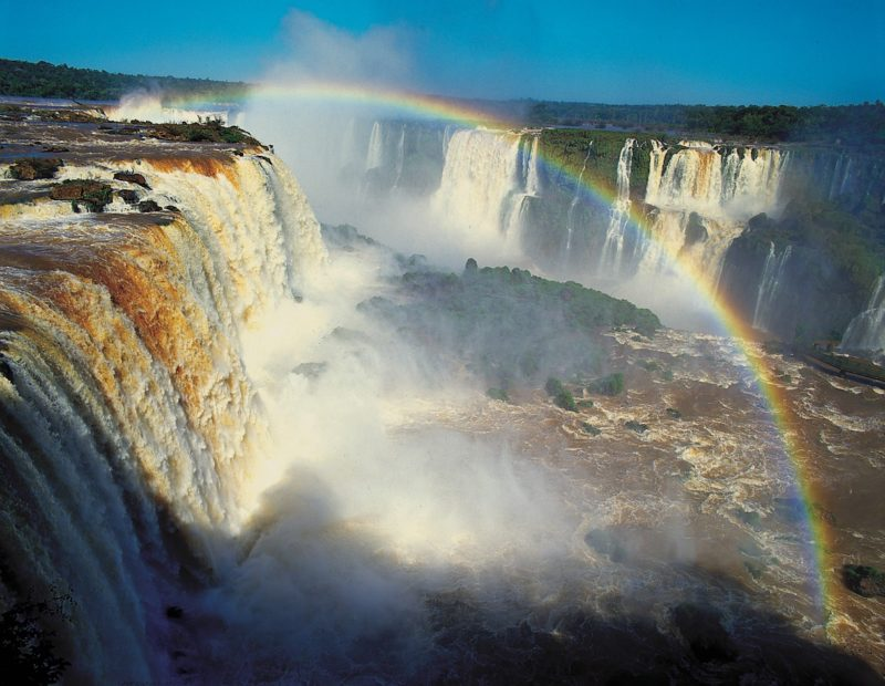 Brazil - 1584 - Exclusive Luxury - Iguacu Falls Waterfall Rainbow