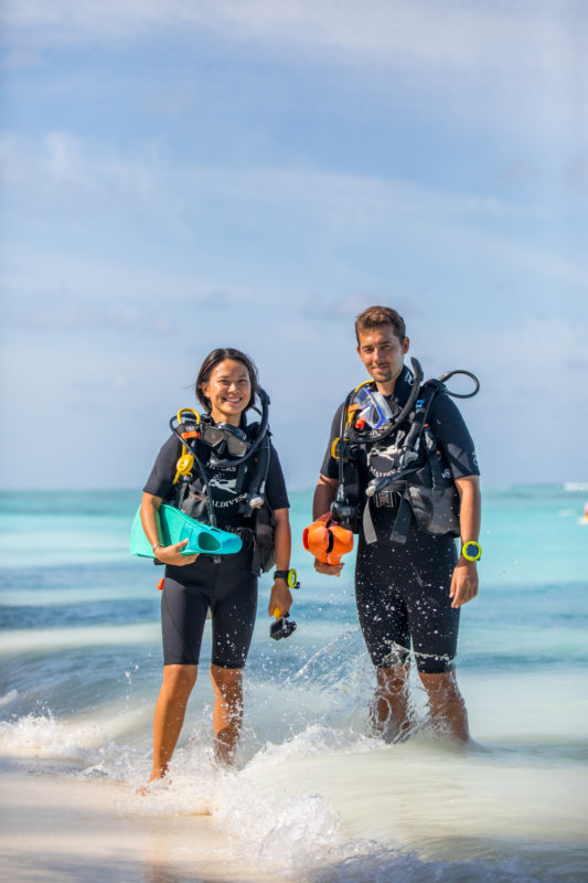 Maldives - Male Atoll - 1567- Kagi Maldives Spa Island - Scuba diving kit