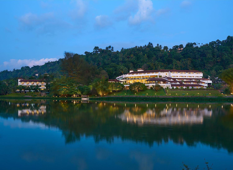 Sri Lanka - Kandy - 1567 - Cinnamon Citadel - Accommodation View