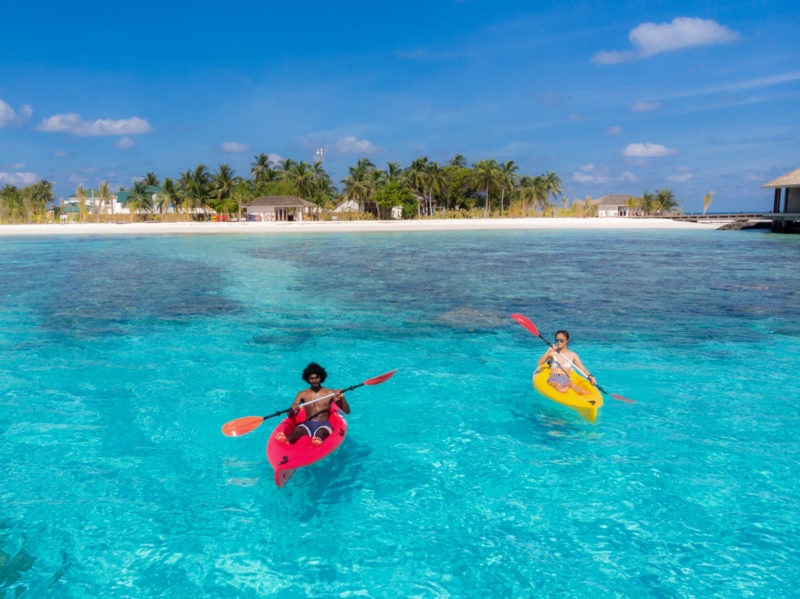 Maldives - Male Atoll - 1567- Kagi Maldives Spa Island - Watersports Kayaking