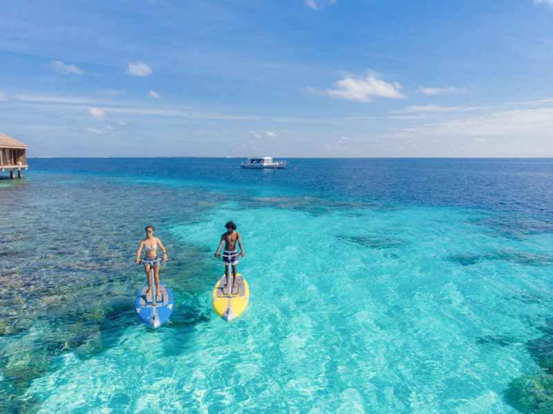 Maldives - Male Atoll - 1567- Kagi Maldives Spa Island - Watersports Peddle Boarding