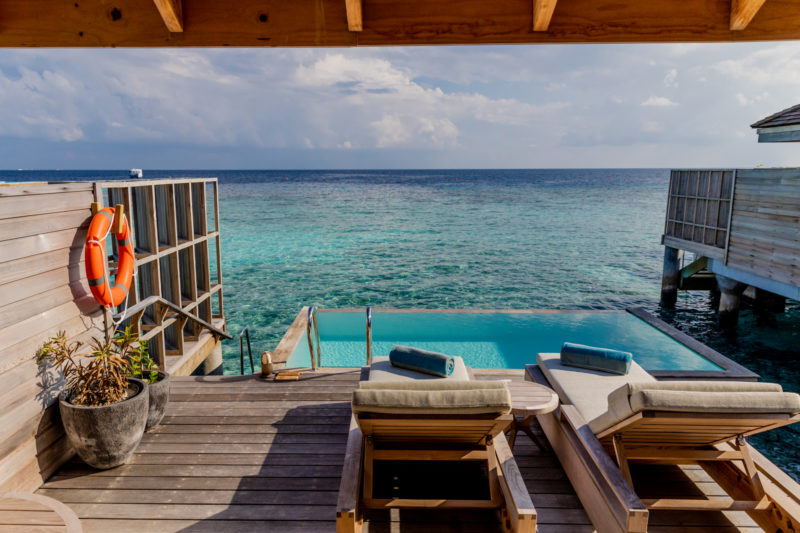 Maldives - Male Atoll - 1567- Kagi Maldives Spa Island - Lagoon Pool Villa Terrace