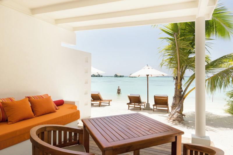 Maldives - South Ari Atoll - 1567 - Lux* South Ari Atoll - Lagoon Pavilion Bedroom Terrace