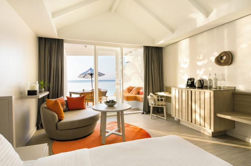 Maldives - South Ari Atoll - 1567 - Lux* South Ari Atoll - Lagoon Pavilion Lounge Seating Views of the beach