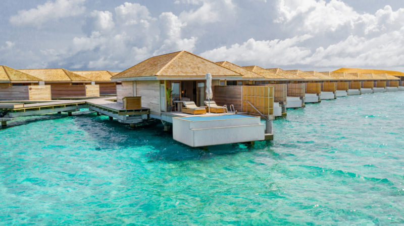 Maldives - Male Atoll - 1567- Kagi Maldives Spa Island - Ocean Pool Villa Exterior