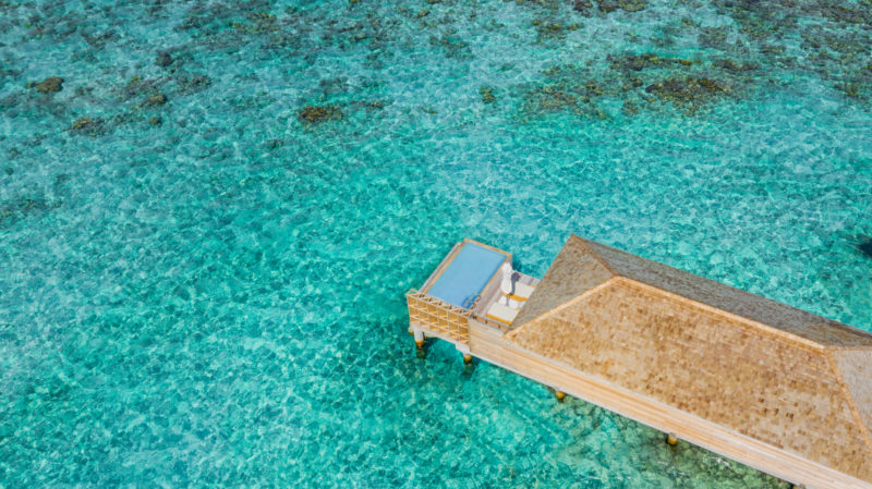 Maldives - Male Atoll - 1567- Kagi Maldives Spa Island - Ocean Pool Villa - Reefs and ocean