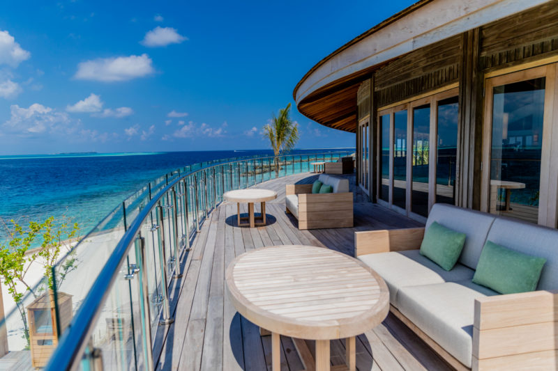 Maldives - Male Atoll - 1567- Kagi Maldives Spa Island - Pianobar Exterior Balcony views