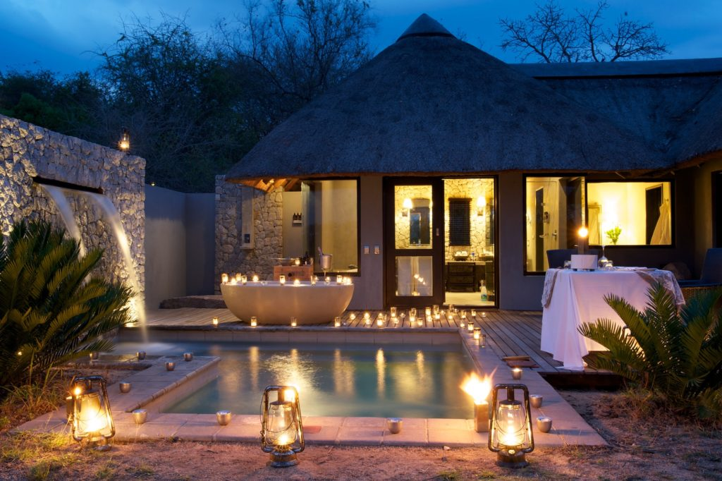South Africa - Kruger - 4948 - Plunge Pool at Night