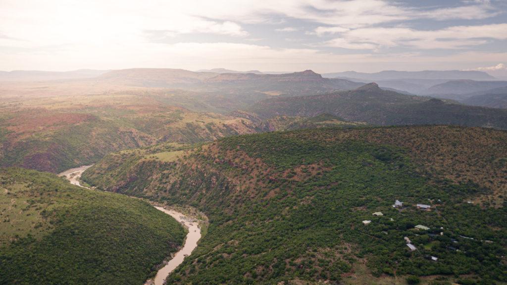 South Africa - 4948 - fugitives drift - aerial